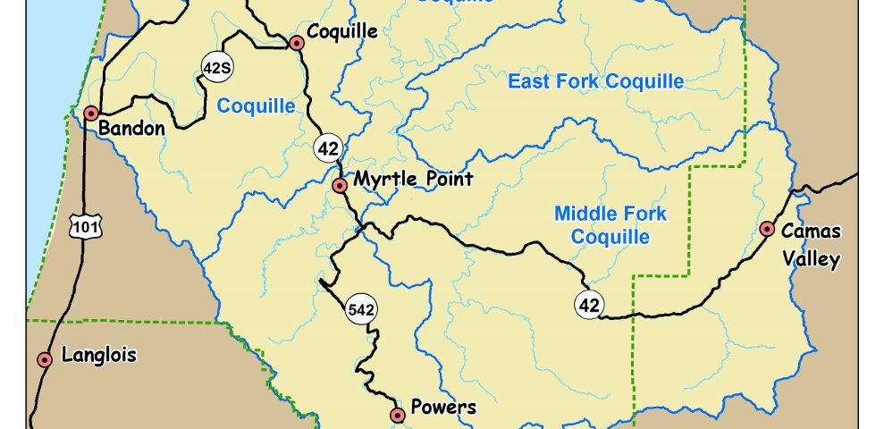 Coquille River Facts Coquille Watershed Association